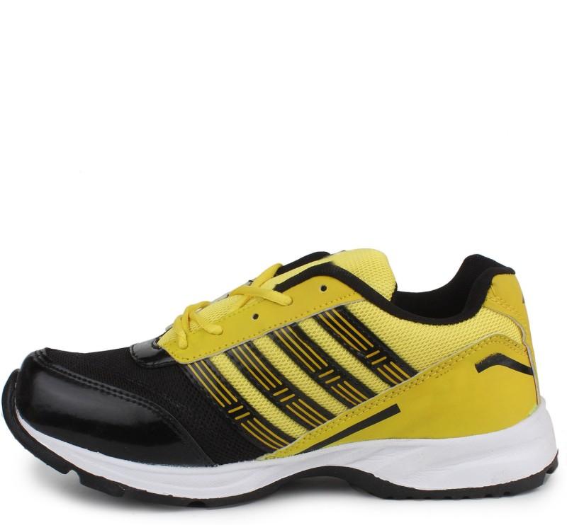 11e 11e Black Yellow Running Shoes For Men(Black, Yellow)