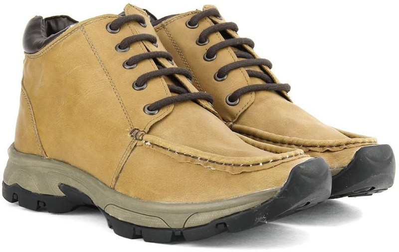 Knotty Derby Men Boots For Men(Beige)