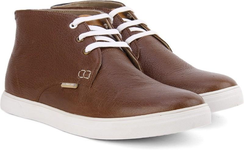 U.S. Polo Assn Boots For Men(Tan, White)