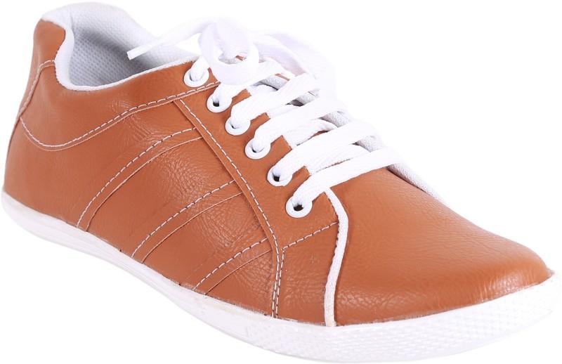 Quarks Casual Sneakers Casual Shoes For Men(Tan)