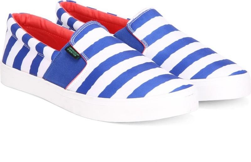 United Colors of Benetton Men Loafers For Men(Blue, White)