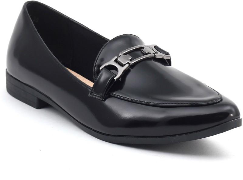 Shuberry Women's Slip On Shoes For Women(35, Black) image