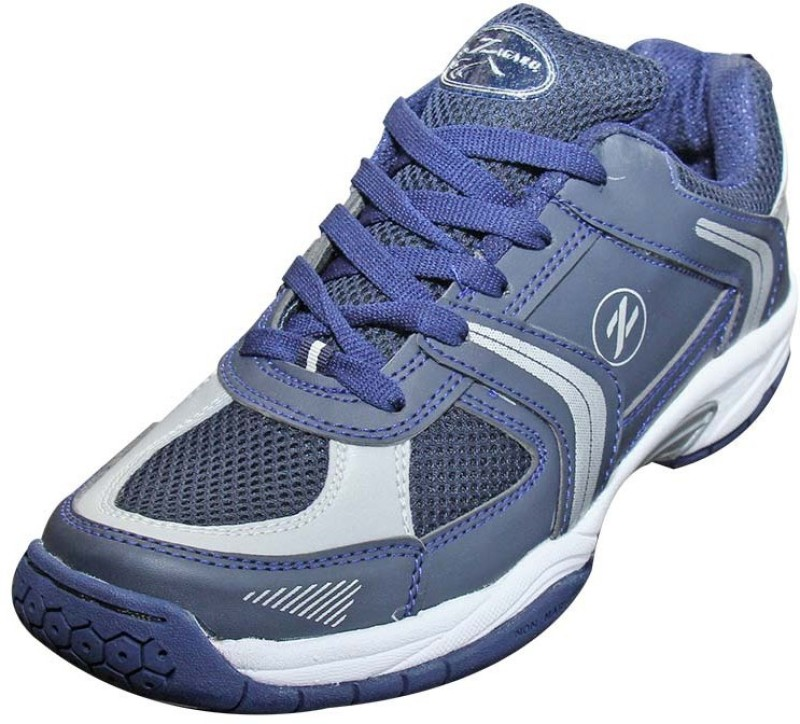 Zigaro Badminton Shoes For Men(Grey)