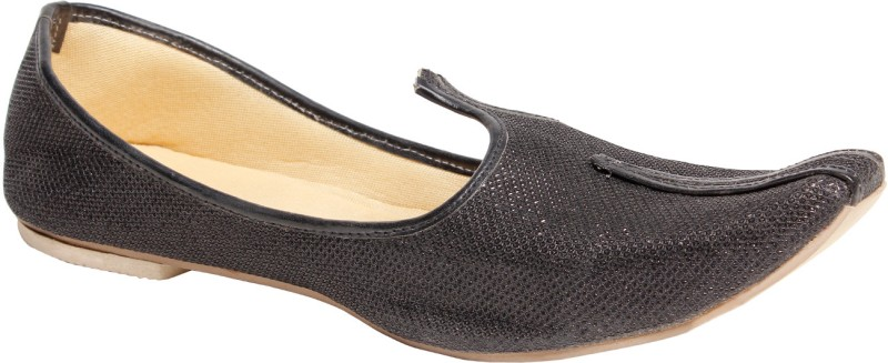 Do Bhai Panjabi - Jutty Mocassin For Men(Black)