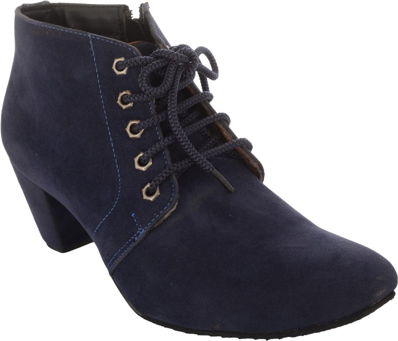 Exotique EL0040 Boots For Women(Blue)
