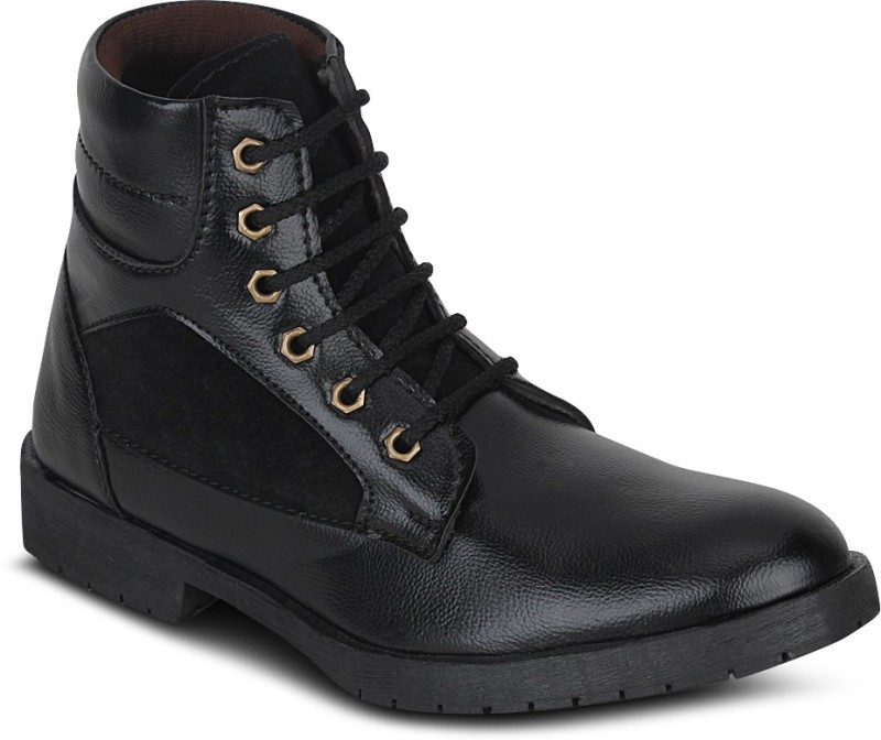 Kielz Gents Footwear Boots For Men(Black)