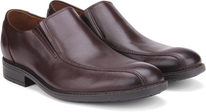 Clarks Lace Up Shoes For Men(Brown)