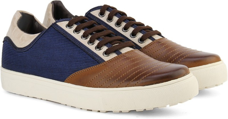 Knotty Derby Men Sneaker For Men(Blue, Tan)