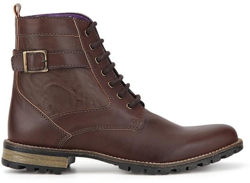 Knotty Derby Diggory Boots For Men(Brown)