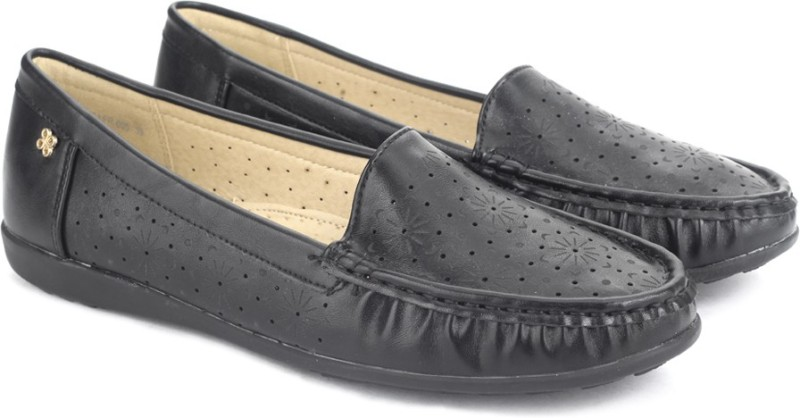 Addons Loafers For Women(Black)