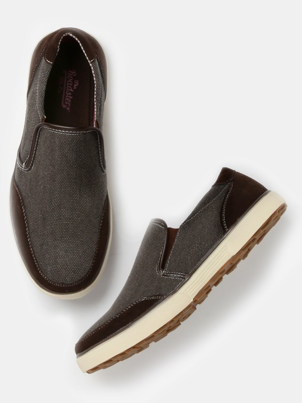 Roadster Loafers For Men(Brown)