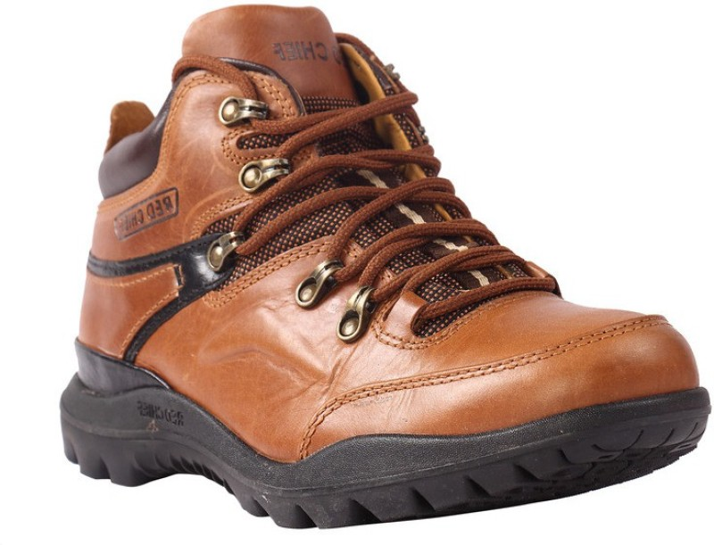 Red Chief Fashion wear Boots For Men(Tan)