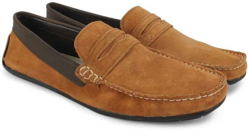 Knotty Derby Tom Loafers For Men(Tan, Brown)