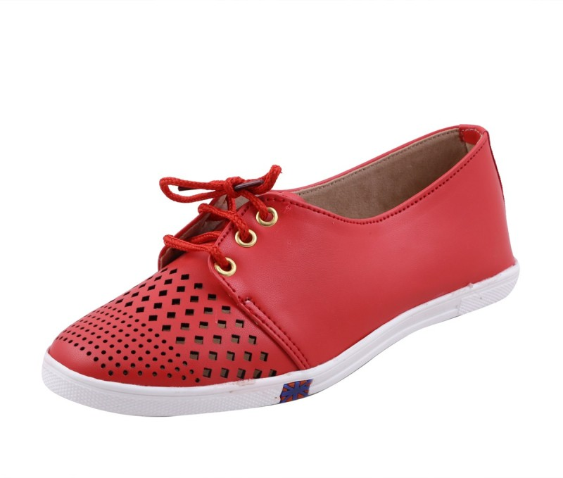 Adorn Latest Fashion Sneakers(Red) Latest Fashion