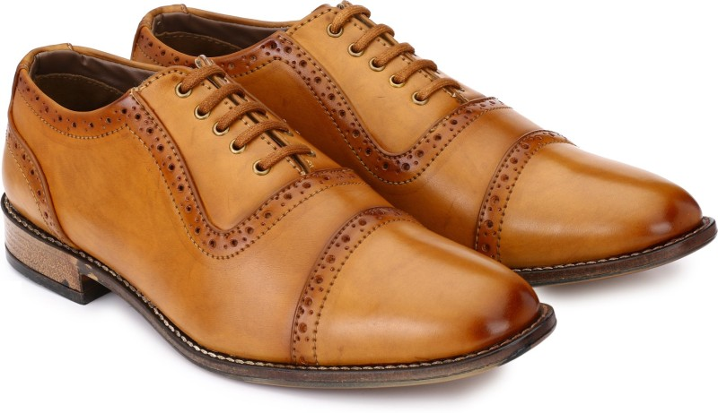 Prolific Lace Up For Men(Tan)
