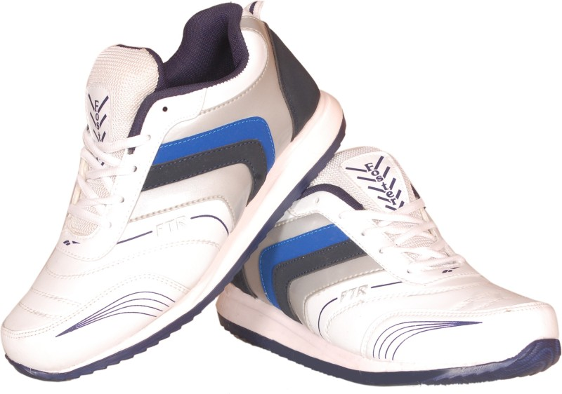 Delux Look Cricket Shoes For Men(White)