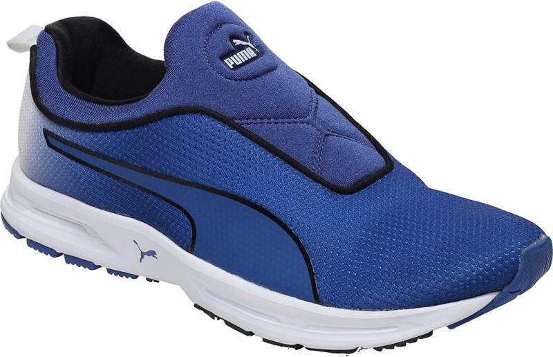 Puma EF Cushion Slipon Fade DP Running Shoes(Blue)