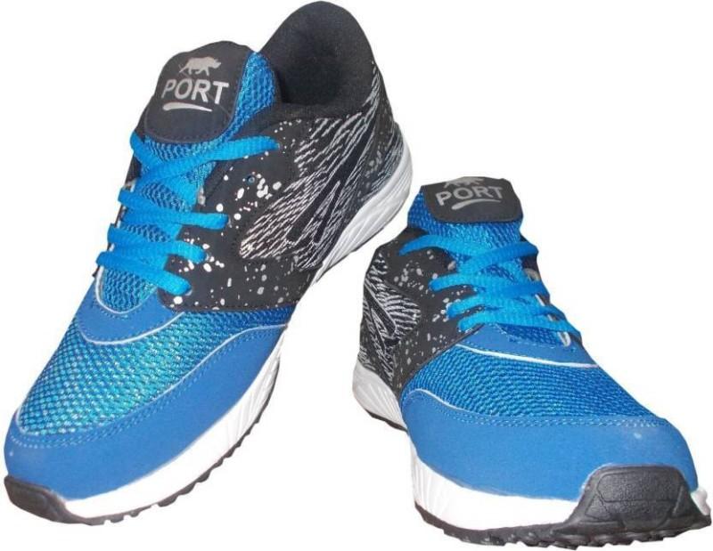 Port Blue Impact 170 Running Shoes For Men(Blue)