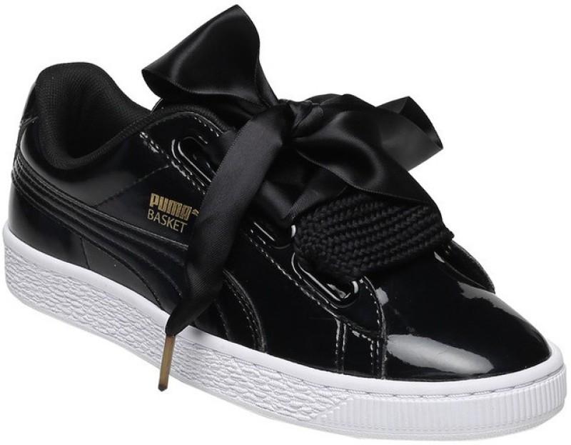 Puma Basket Heart Patent Wns SneakersBlack