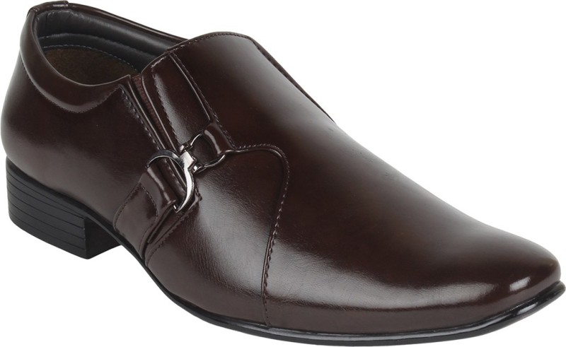 Guava Slip On Shoes For Men(Brown)