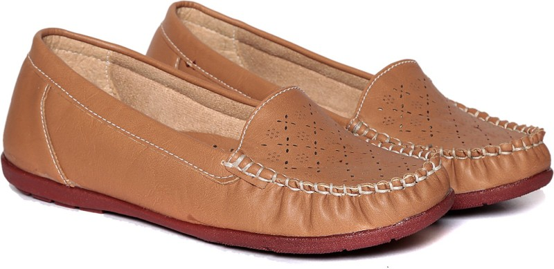 Adorn Latest Fashion Loafers(Beige) Latest Fashion