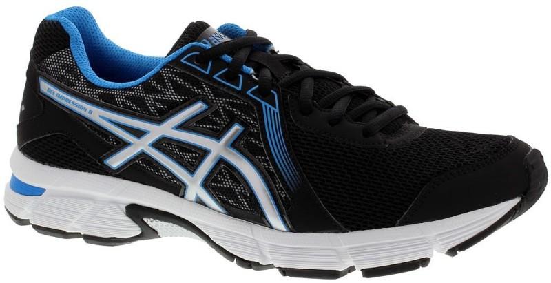 Asics Gel-Impression 8 Men Running Shoes For Men(Black, Silver, Blue)