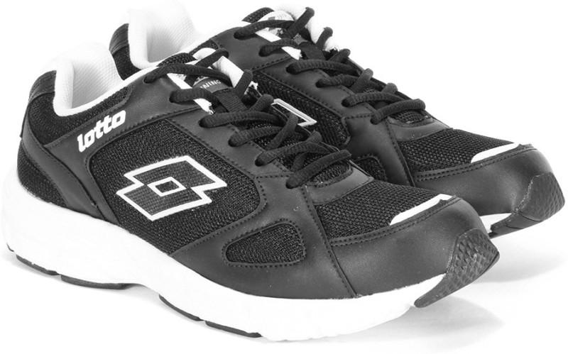Lotto OMEGA II Running Shoes For Men(Black, White)
