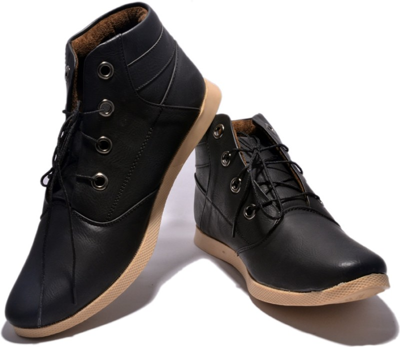 Sir Corbett Tpr Boots For Men(Black)
