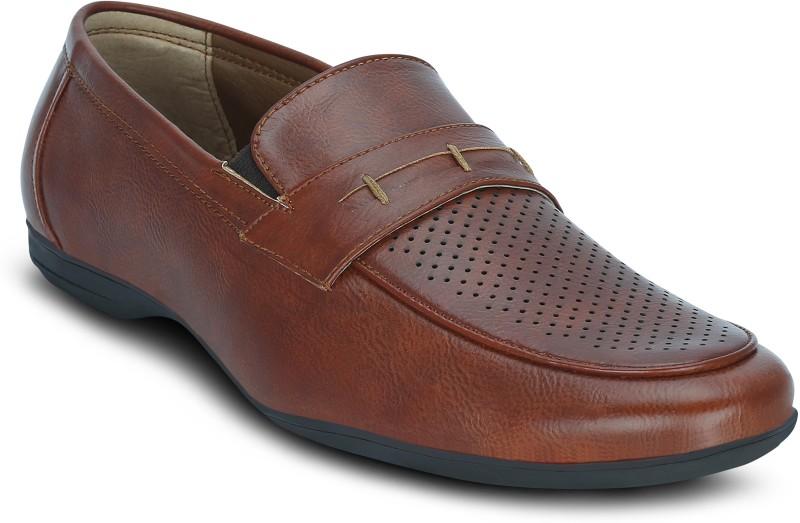Kielz Kielz-Formal Sneakers For Men(Tan)
