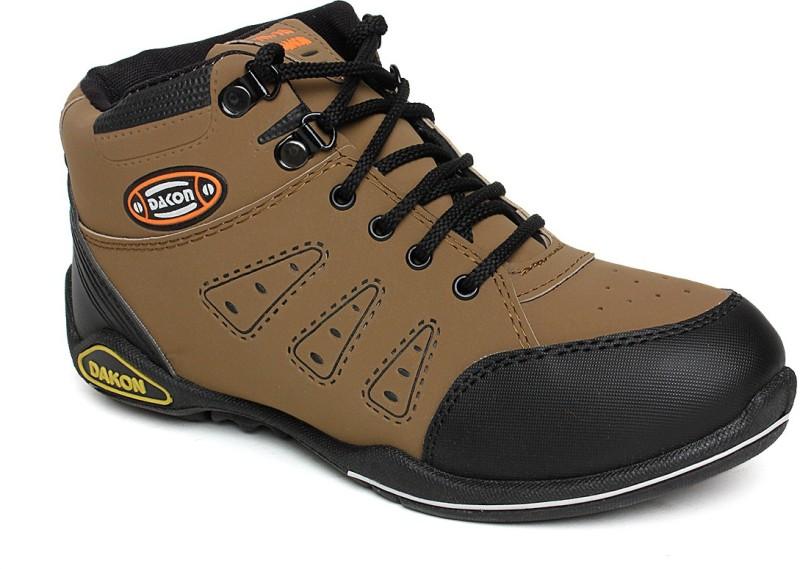 Dacon Hiking & Trekking Shoes For Men(Brown)