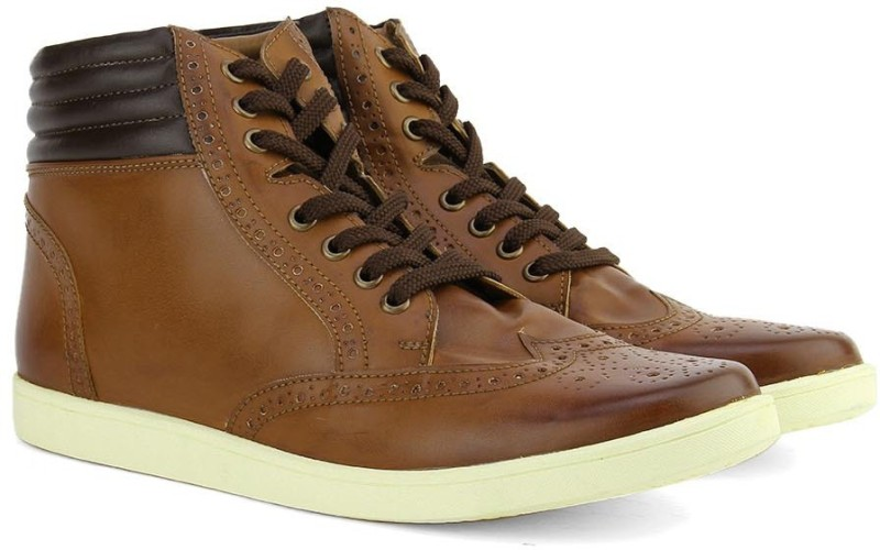 Knotty Derby Men Boots For Men(Brown, Tan)