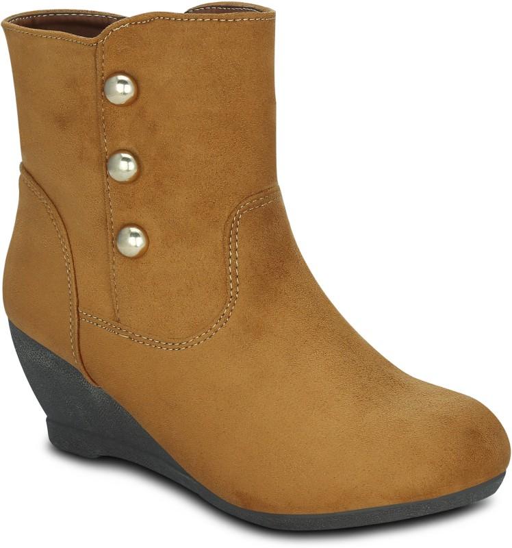 Get Glamr HAYLAY Boots(Tan)