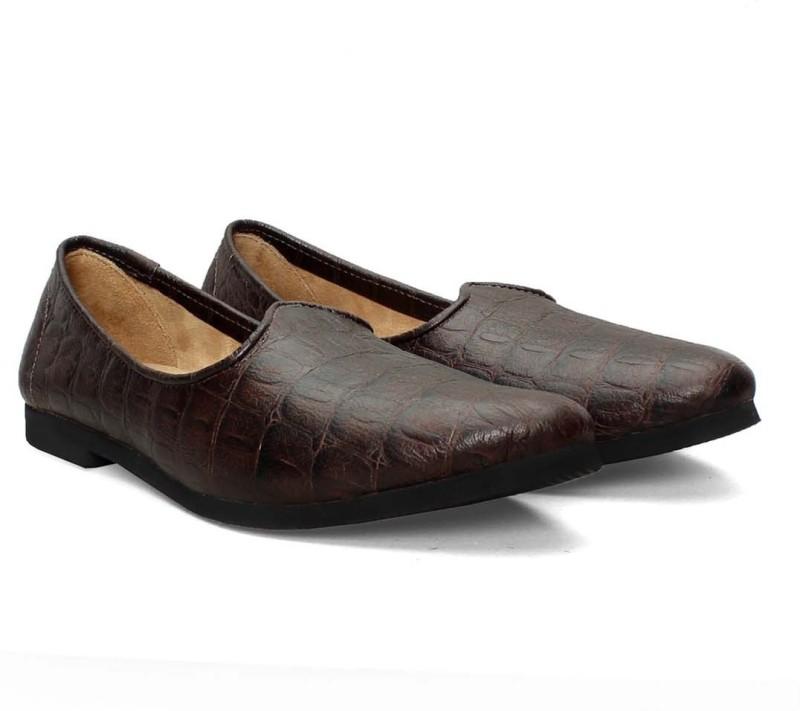 C Comfort Men's Slip On Shoes(8, Black)  image