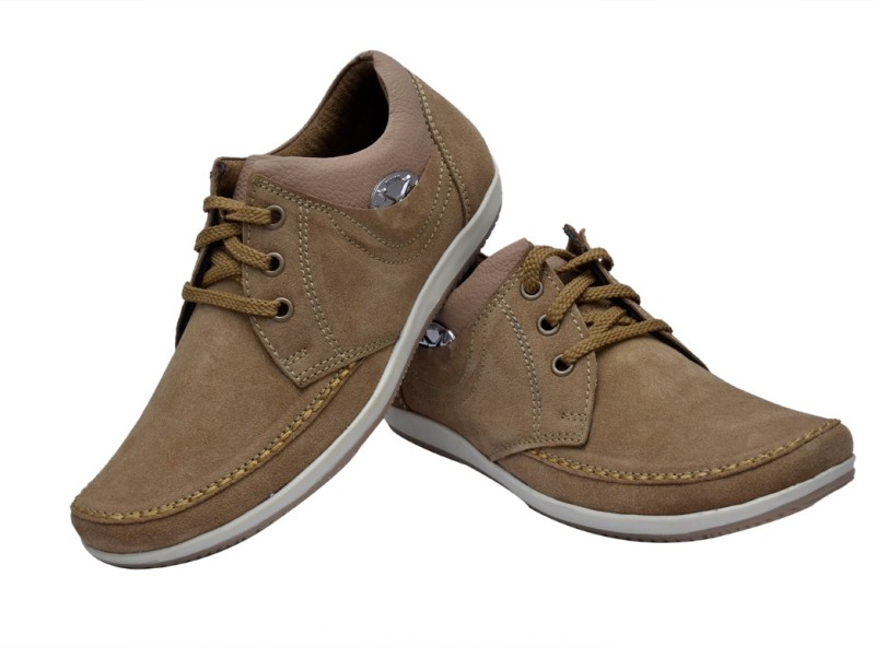 Prolific Sz Leather Casuals For Men(Tan)