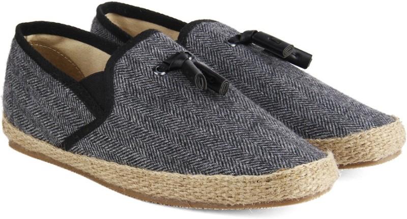 Carlton London -Mr.CL Loafers For Men(Grey)