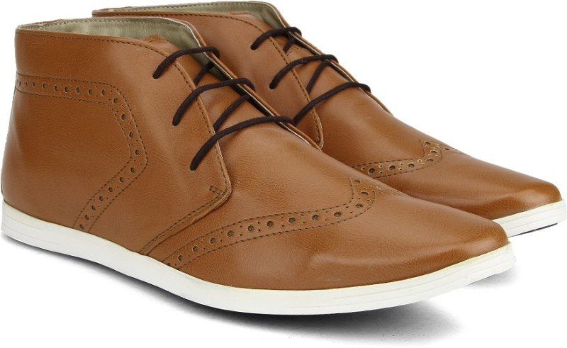 Knotty Derby Men Boots(Tan)
