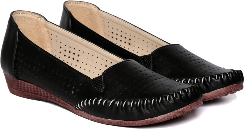 Adorn Latest Fashion Loafers(Black) Latest Fashion