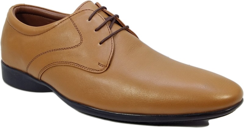 Egoss Men Tan Formal Lace Up(Tan)