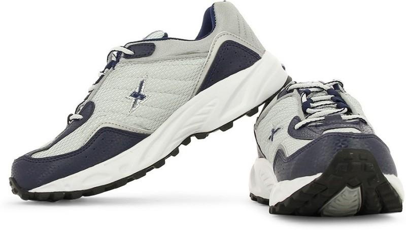 Sparx SM-4 Men's Running Shoes For Men(8, Navy, Silver) image