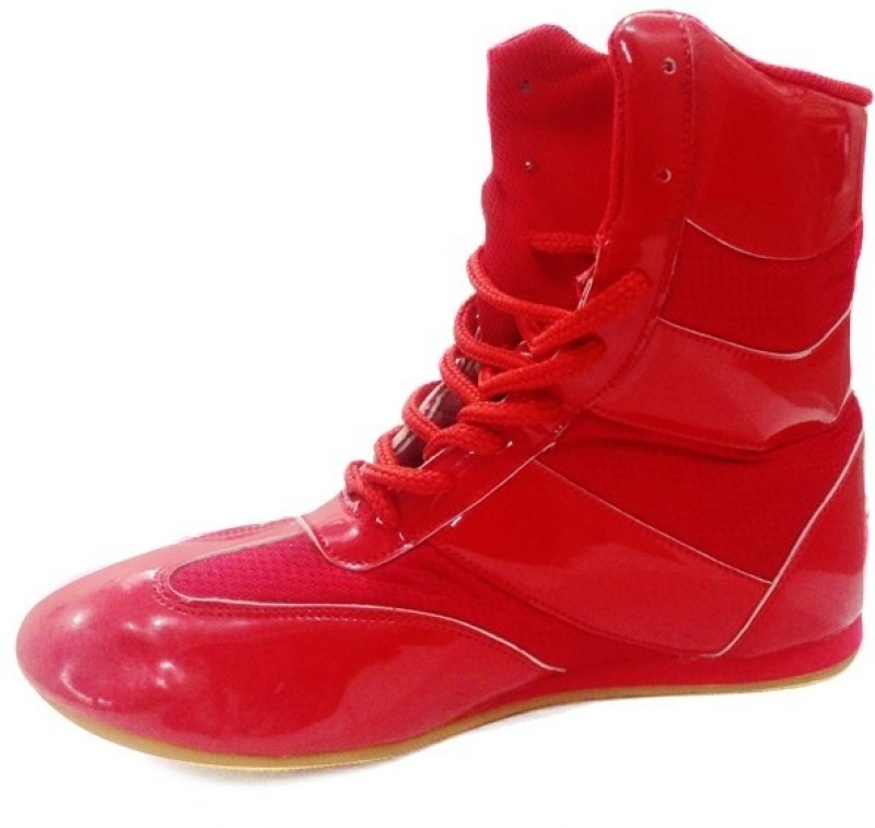 RXN Red Boxing & Wrestling Shoes(Red)