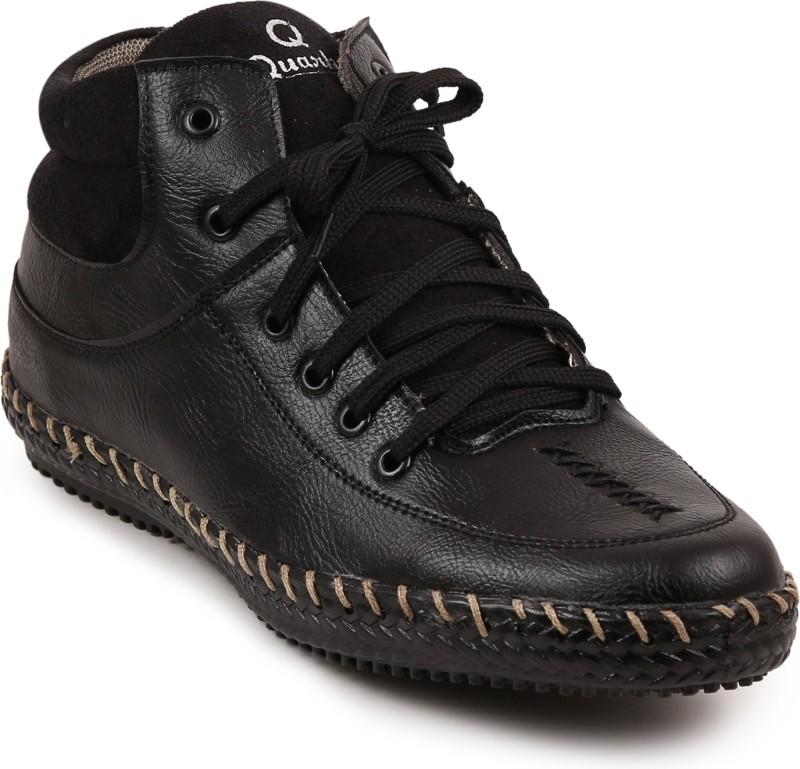 Quarks Casual Shoes For Men(Black)
