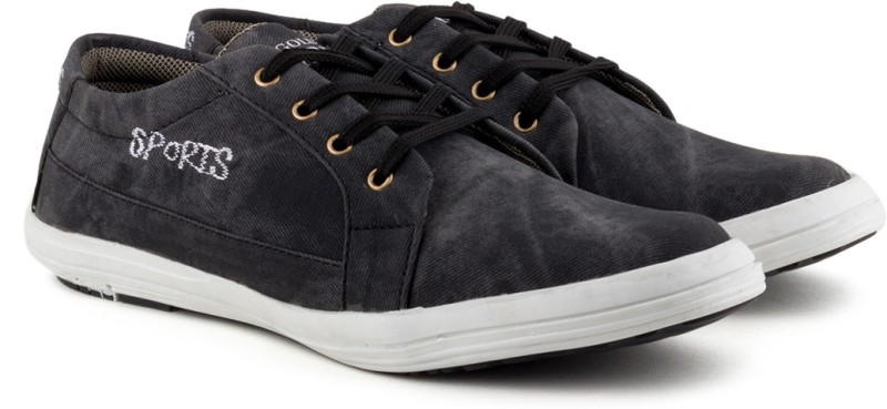 Golden Sparrow Stylish Casuals(Black)