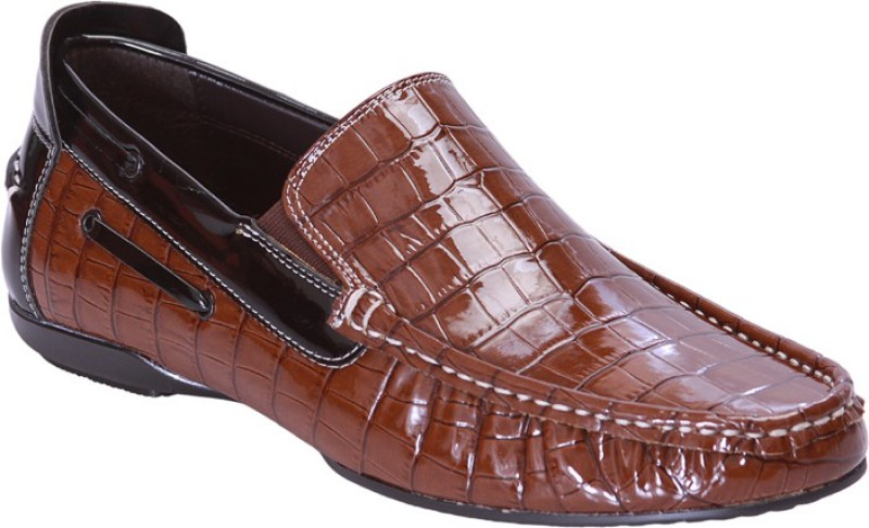 San Frissco EC 4444 Loafers For Men(Tan)