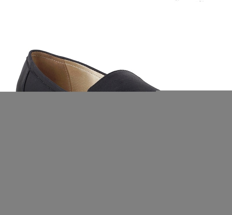 Mochi WomenS Casual Loafers Loafers(Black)