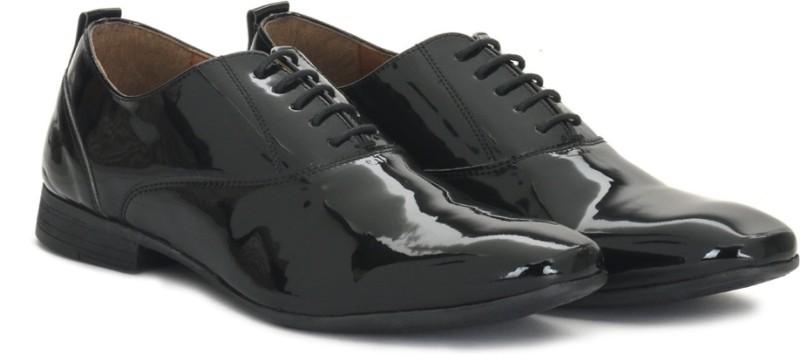 Knotty Derby Alastor Oxford Lace up For Men(Black)