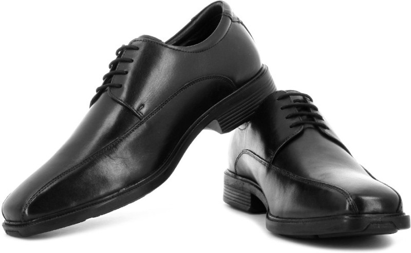 Hush Puppies Lace Up Shoes(Black)