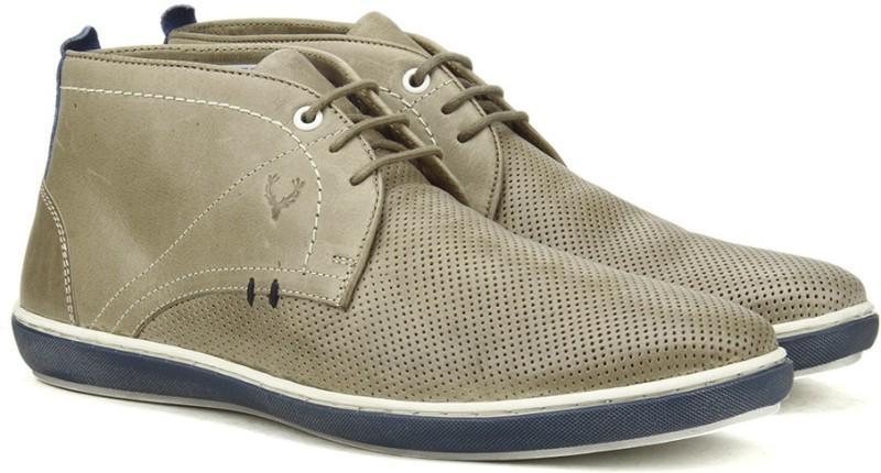 Allen Solly Boots For Men(Brown)