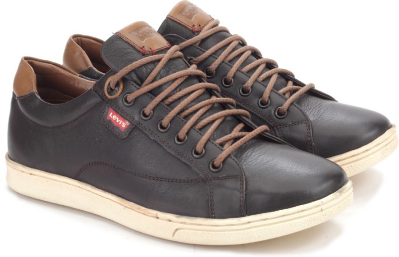 Levi's Starch Sneakers(Black, Brown)