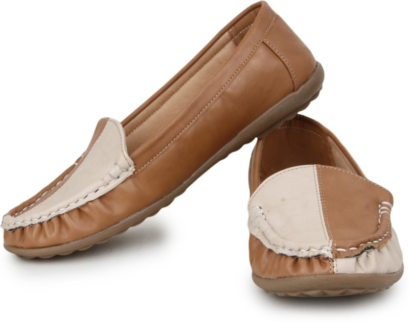 Naisha Loafers For Women(Beige)