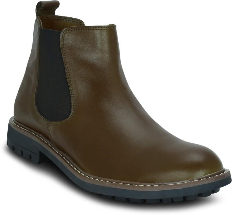Get Glamr Alan Boots For Men(Tan)